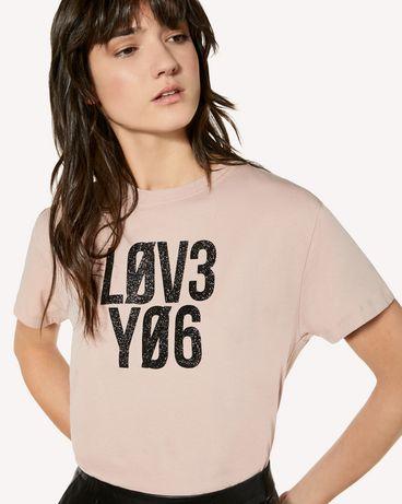 REDValentino SR3MG01S4DJ N17 T-Shirt Woman e