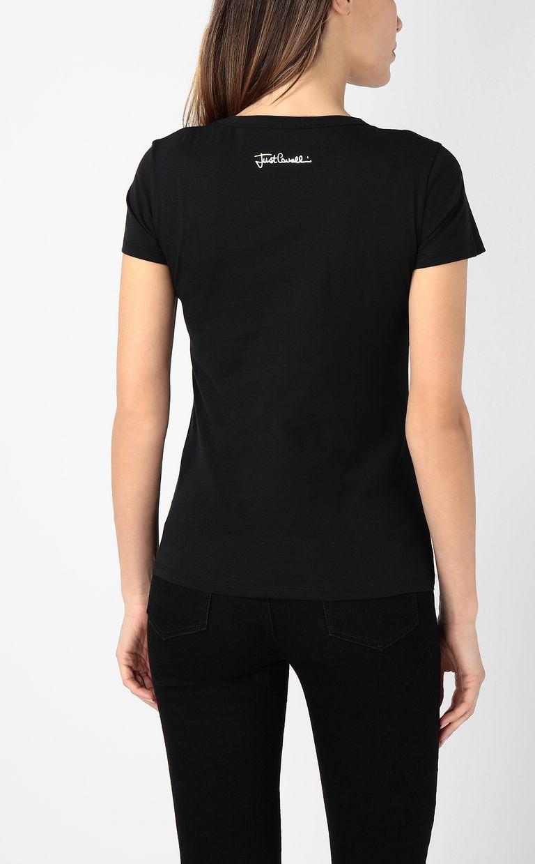 JUST CAVALLI Just flames t-shirt Short sleeve t-shirt Woman a