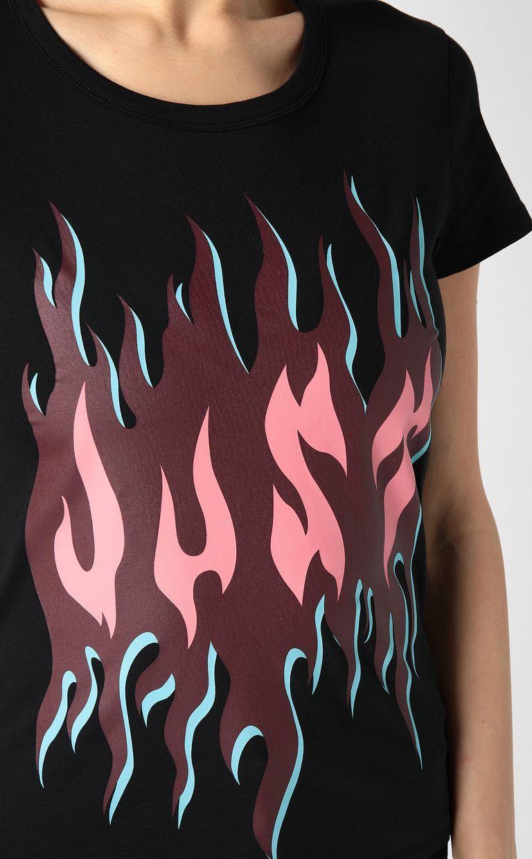 JUST CAVALLI Just flames t-shirt Short sleeve t-shirt Woman e