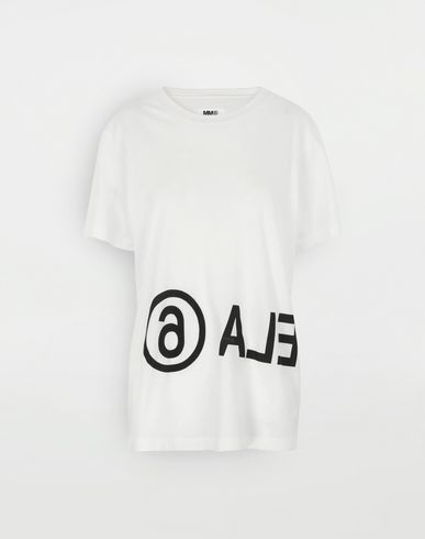 Reversed logo T-shirt