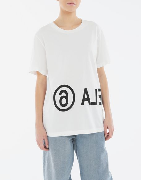 MM6 MAISON MARGIELA Reversed logo T-shirt Short sleeve t-shirt Woman r