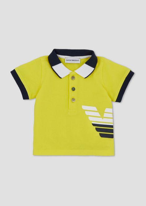 EMPORIO ARMANI Polo Shirt Man f