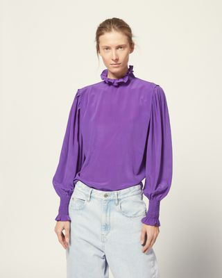 ISABEL MARANT ÉTOILE SHIRT & BLOUSE Woman YOSHI TOP r