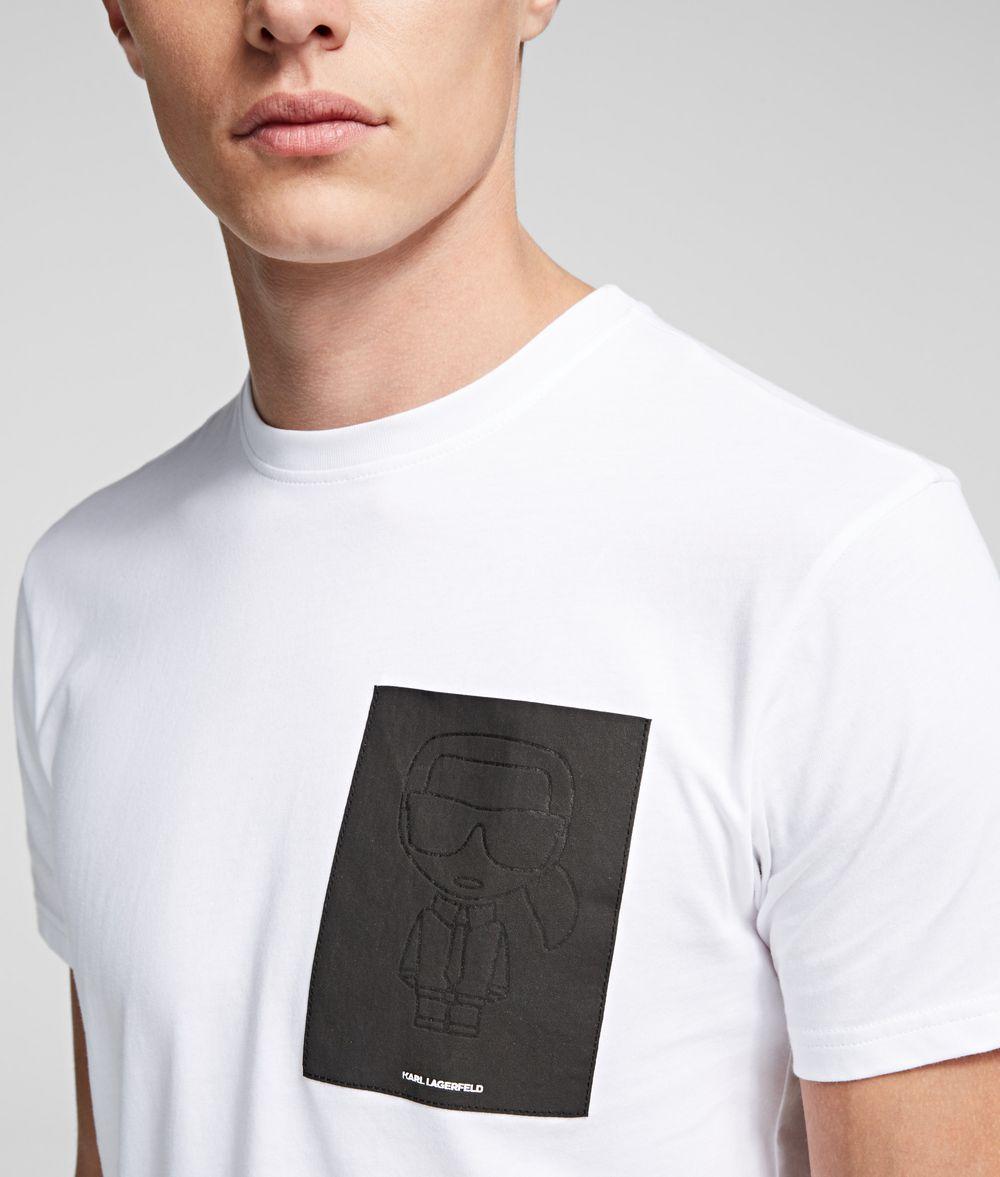 KARL LAGERFELD K/Ikonik Print T-Shirt T-shirt Man d