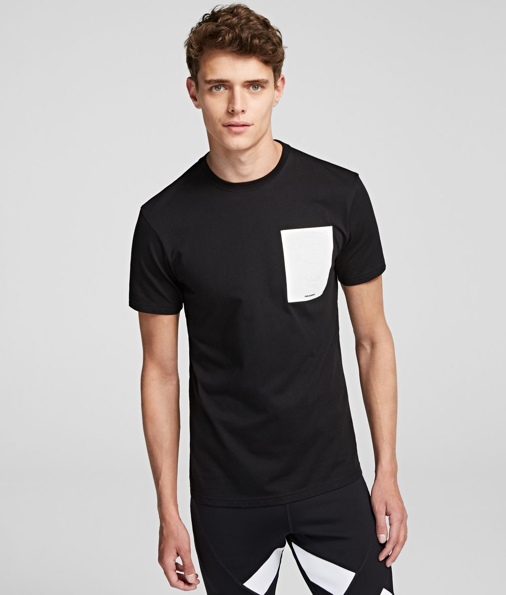 KARL LAGERFELD K/Ikonik Print T-Shirt T-shirt Man f