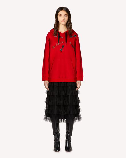 REDValentino Sweatshirt Woman SR3MF02B4FH D05 f