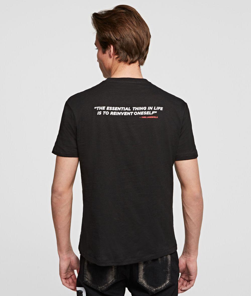 KARL LAGERFELD KARL LEGEND PROFILE T-SHIRT T-shirt Man d