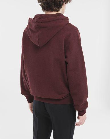 KNITWEAR Stereotype hoodie Maroon