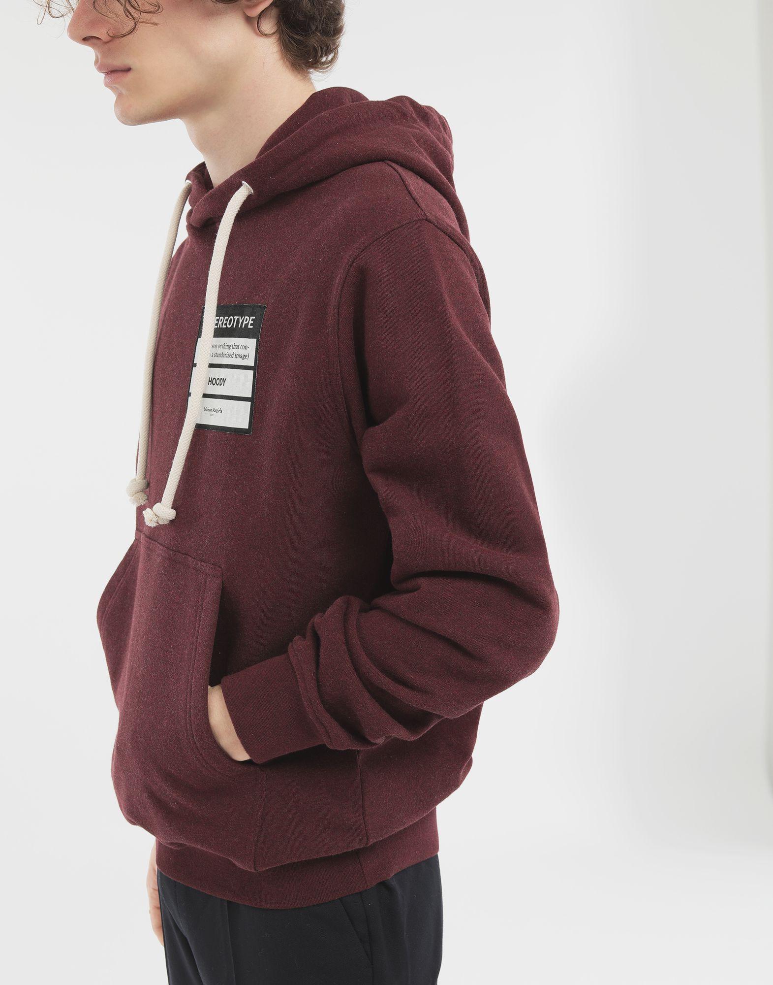 MAISON MARGIELA Stereotype hoodie Hooded sweatshirt Man b