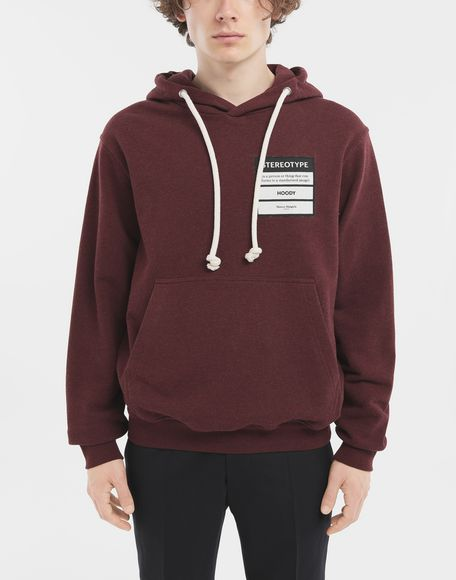 MAISON MARGIELA Stereotype hoodie Hooded sweatshirt Man r