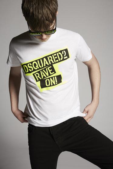 DSQUARED2 Short sleeve t-shirt Man S74GD0593S22507100 m