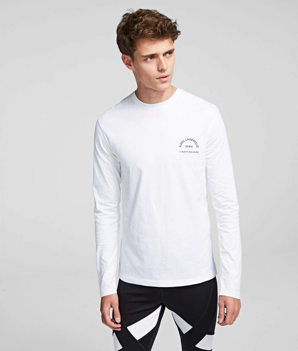 KARL LAGERFELD Rue St Guillaume T-Shirt T-shirt Man f
