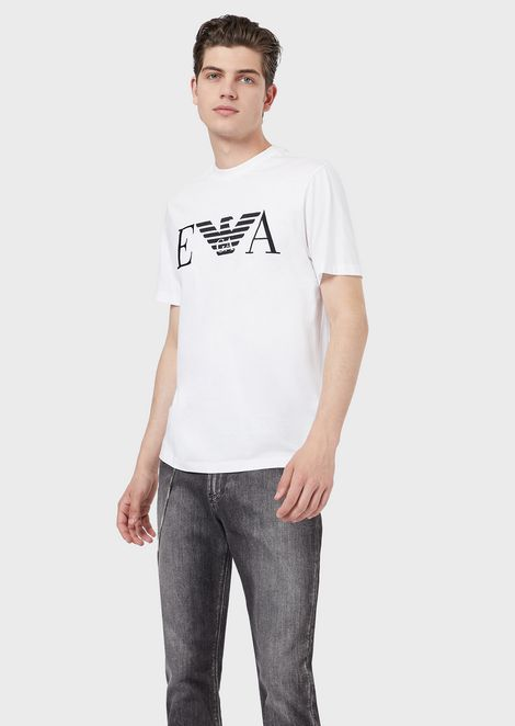0f4e2ad8755 Cotton jersey T-shirt with logo print
