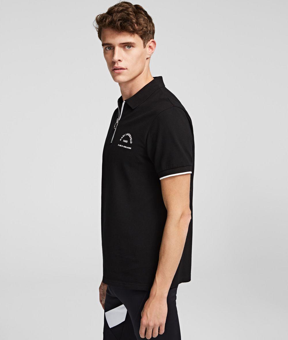 KARL LAGERFELD Rue St Guillaume Polo T-shirt Man d