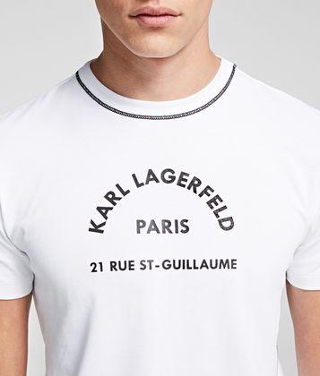 KARL LAGERFELD RUE ST GUILLAUME T-SHIRT