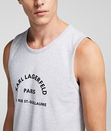 KARL LAGERFELD RUE ST GUILLAUME TANK TOP