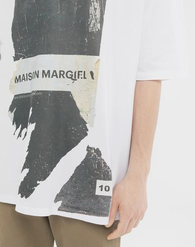 TOPS 'Défilé A/W' destroyed T-shirt White