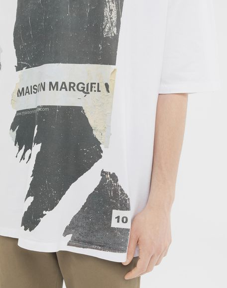 MAISON MARGIELA 'Défilé A/W' destroyed T-shirt Short sleeve t-shirt Man a