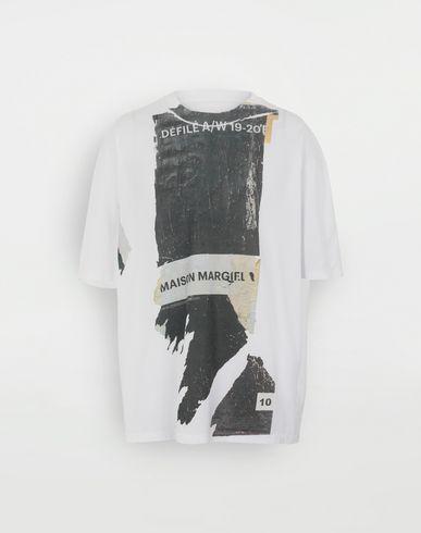 MAISON MARGIELA 'Défilé A/W' destroyed T-shirt Short sleeve t-shirt Man f