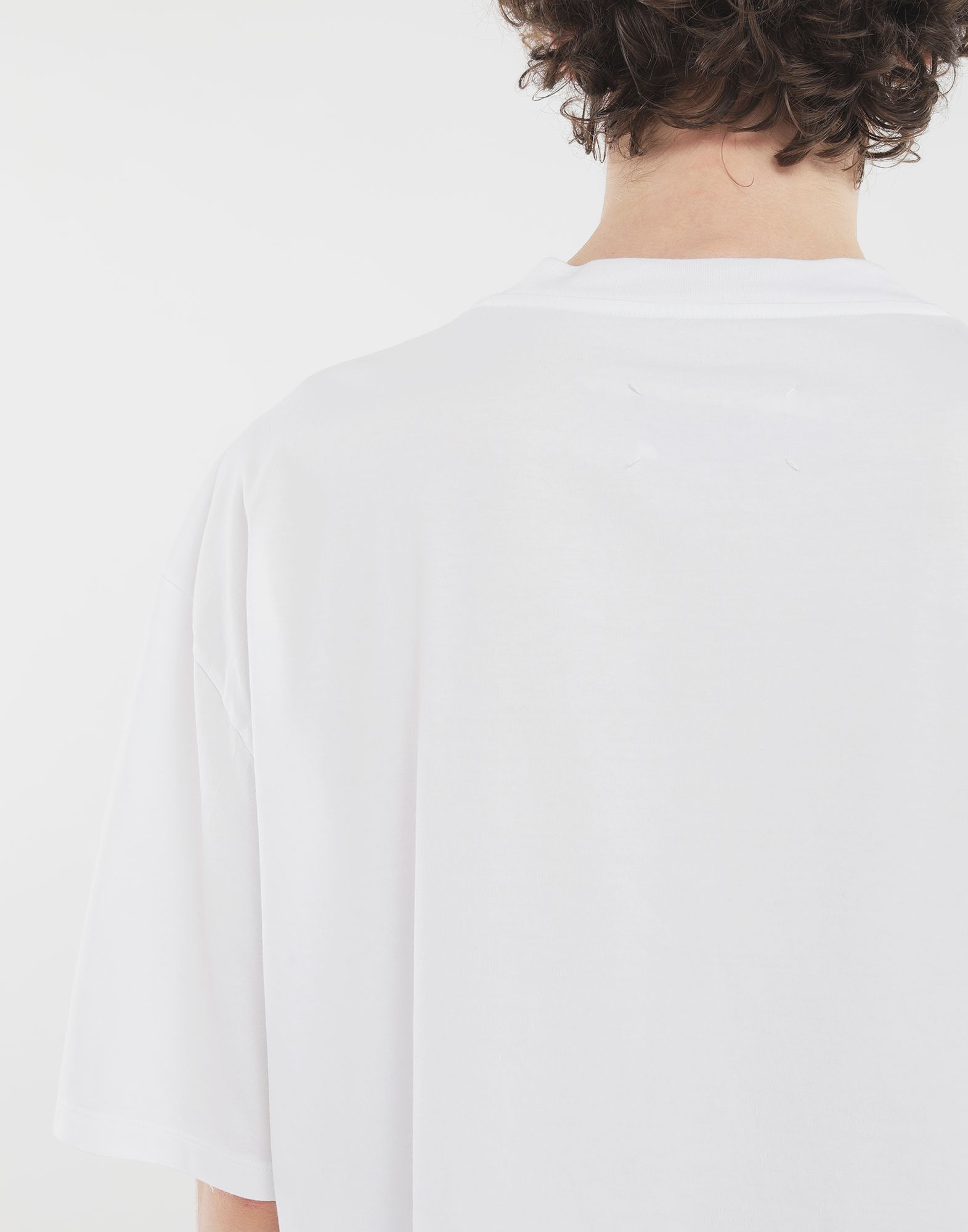 MAISON MARGIELA 'Défilé A/W' destroyed T-shirt Short sleeve t-shirt Man b
