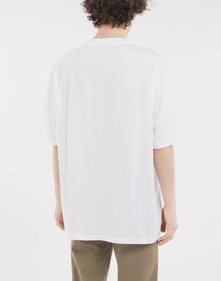 MAISON MARGIELA 'Défilé A/W' destroyed T-shirt Short sleeve t-shirt Man e