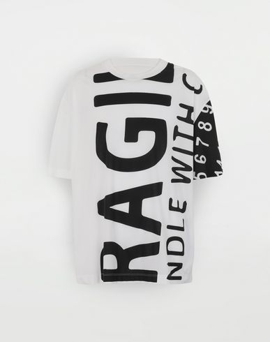 MAISON MARGIELA 'Fragile' T-shirt Short sleeve t-shirt Man f