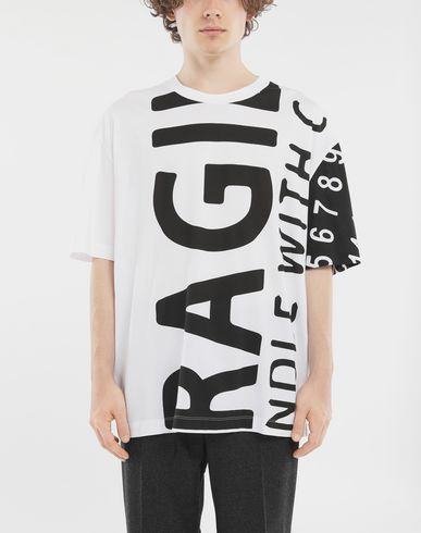 TOPS 'Fragile' T-shirt White