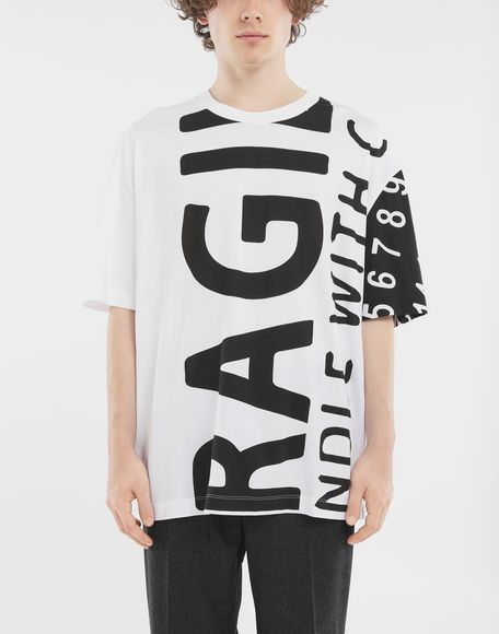 MAISON MARGIELA 'Fragile' T-shirt Short sleeve t-shirt Man r