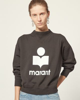 ISABEL MARANT ÉTOILE TOP Woman MOBY SWEATSHIRT r