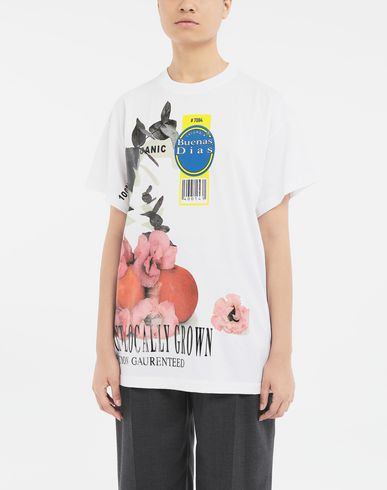 TOPS & TEES Fruit T-shirt White