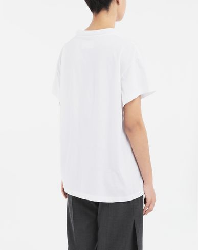 TOPS & TEES Padded T-shirt White