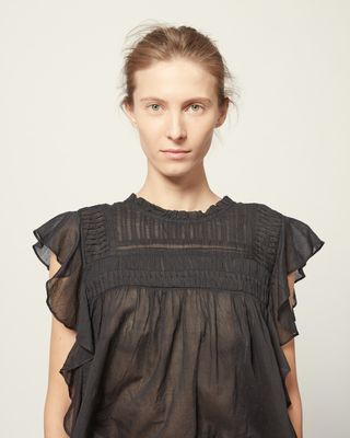 ISABEL MARANT ÉTOILE SHIRT & BLOUSE Woman LAYONA TOP r