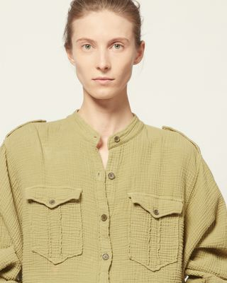 ISABEL MARANT ÉTOILE SHIRT & BLOUSE Woman JEPSON SHIRT r