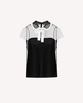 REDValentino Shirt Woman SR3AA0U74GS 0MG a