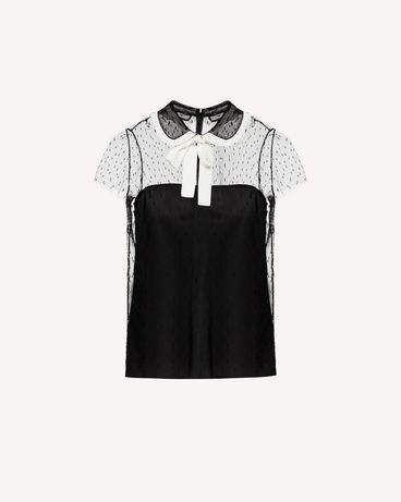 REDValentino SR3AA0U74GS 0MG Shirt Woman a