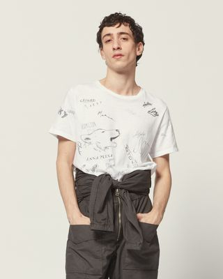 ISABEL MARANT Tops Herr T-SHIRT ZAFFERH r