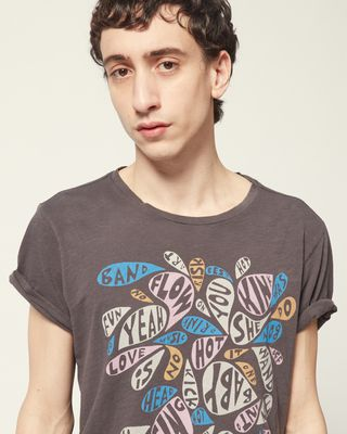 ISABEL MARANT TOP Man ZAFFERH T-SHIRT r