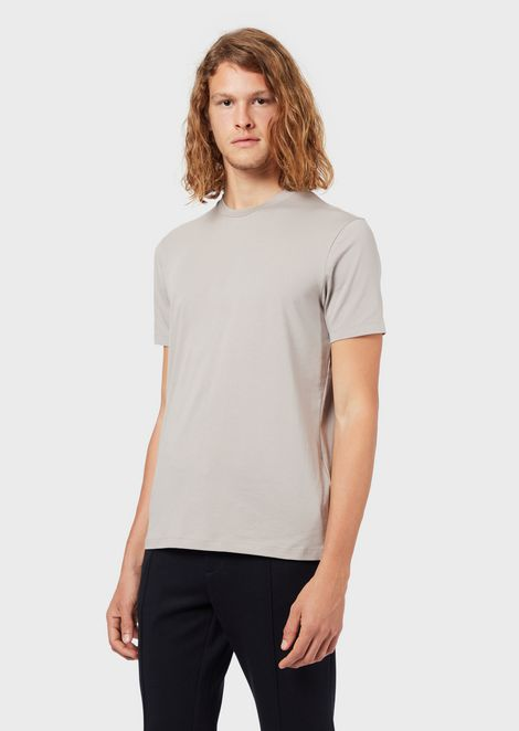Essential Travel T-shirt in mercerised jersey