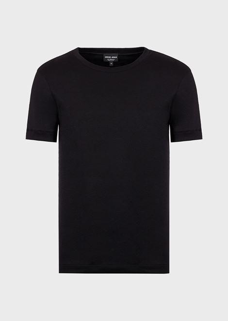 Cashmere crew neck t-shirt