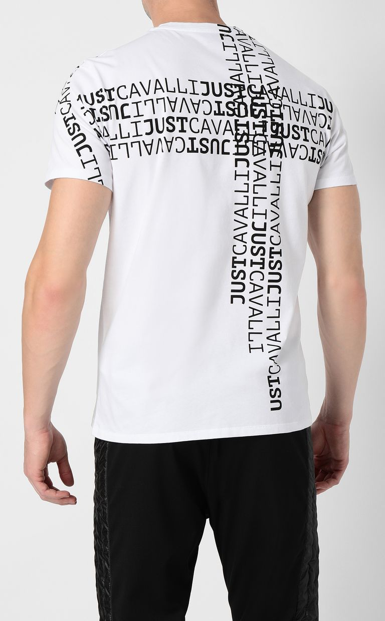JUST CAVALLI Logomania t-shirt Short sleeve t-shirt Man a