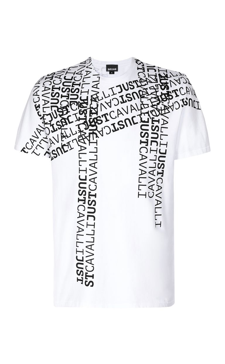 JUST CAVALLI Logomania t-shirt Short sleeve t-shirt Man f