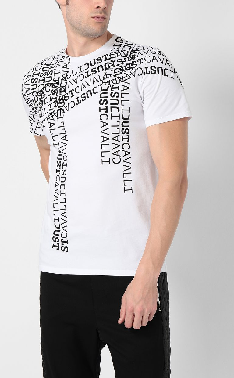 JUST CAVALLI Logomania t-shirt Short sleeve t-shirt Man r