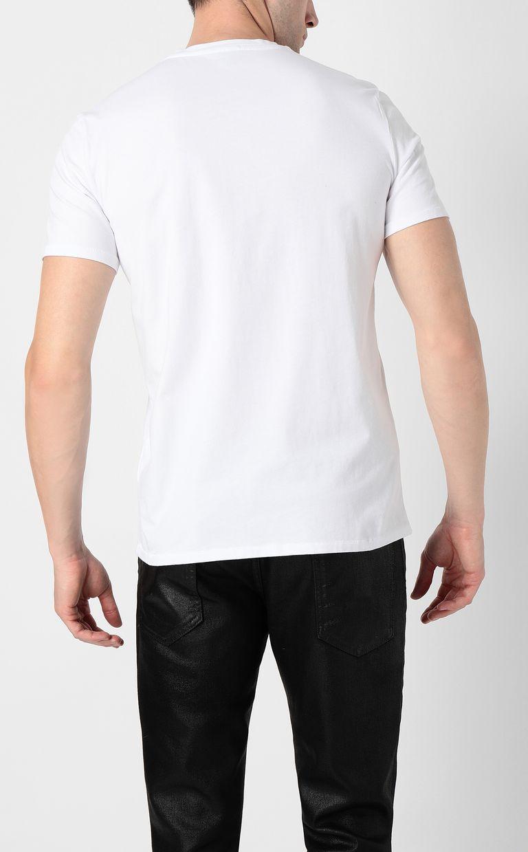 """JUST CAVALLI """"Tauro Fingerprint"""" t-shirt Short sleeve t-shirt Man a"""