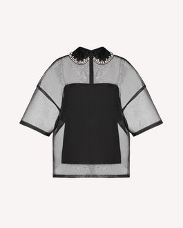 REDValentino Top Woman SR3AEB1049W 0NO a
