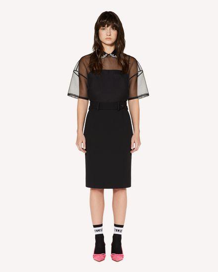 REDValentino Shirt Woman SR3AA00T4CA 0NO f