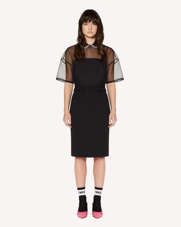 REDValentino SR3AA00T4CA 0NO Shirt Woman f
