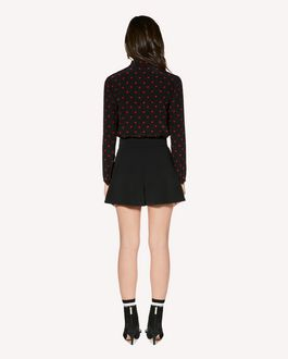 REDValentino Silk shirt with Heart print