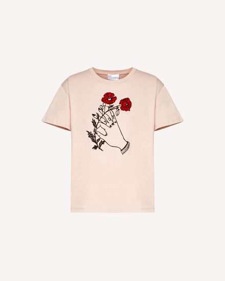 Heart's tale printed  t-shirt