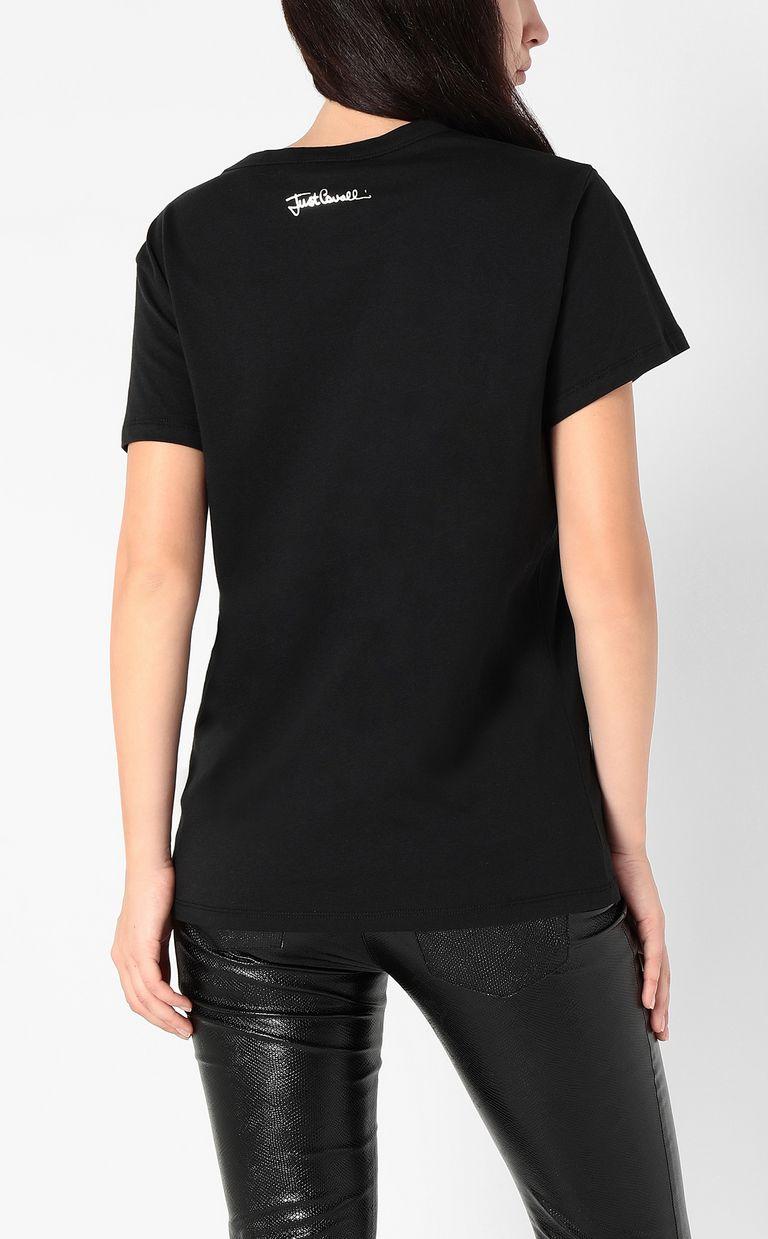 JUST CAVALLI Snake t-shirt Short sleeve t-shirt Woman a