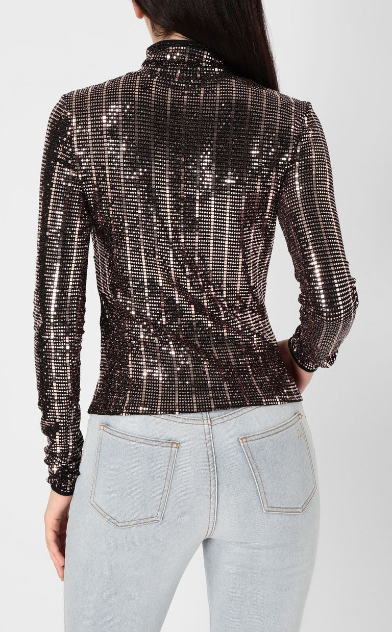 JUST CAVALLI Spangled top Top Woman a